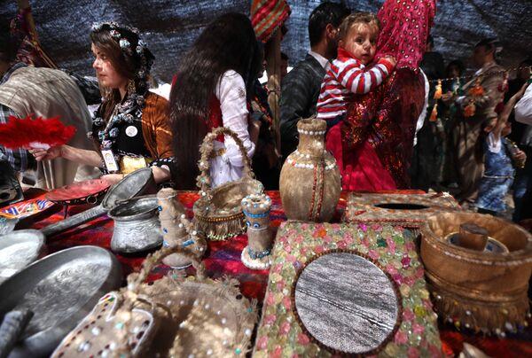In All Their Glory: Unique Kurdish Festival Rocks Iraq - Sputnik International