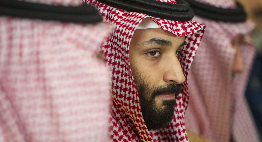 Saudi Crown Prince Mohammed bin Salman meets with Defense Secretary Jim Mattis at the Pentagon in Washington, Thursday, March 22, 2018