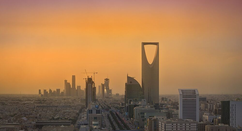 Riyadh Skyline showing the King Abdullah Financial District (KAFD) and the famous Kingdom Tower. File photo