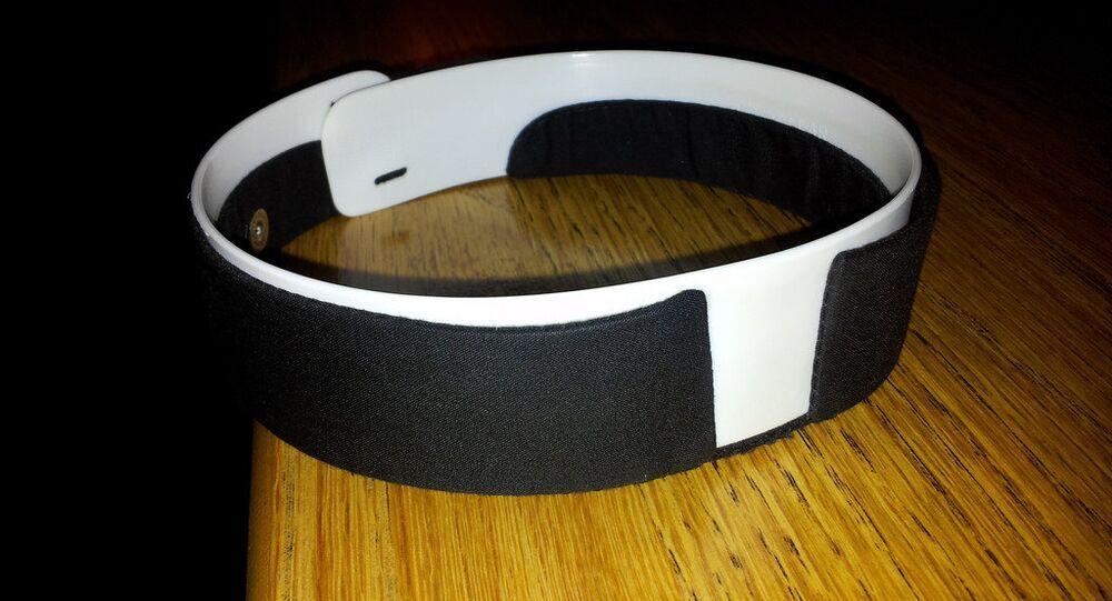 A clerical collar