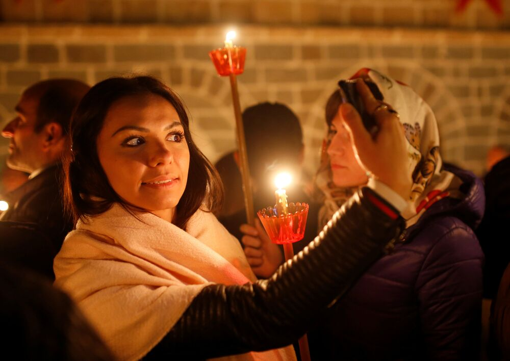 Easter Celebrations: Orthodox Christians Mark Christ's Resurrection