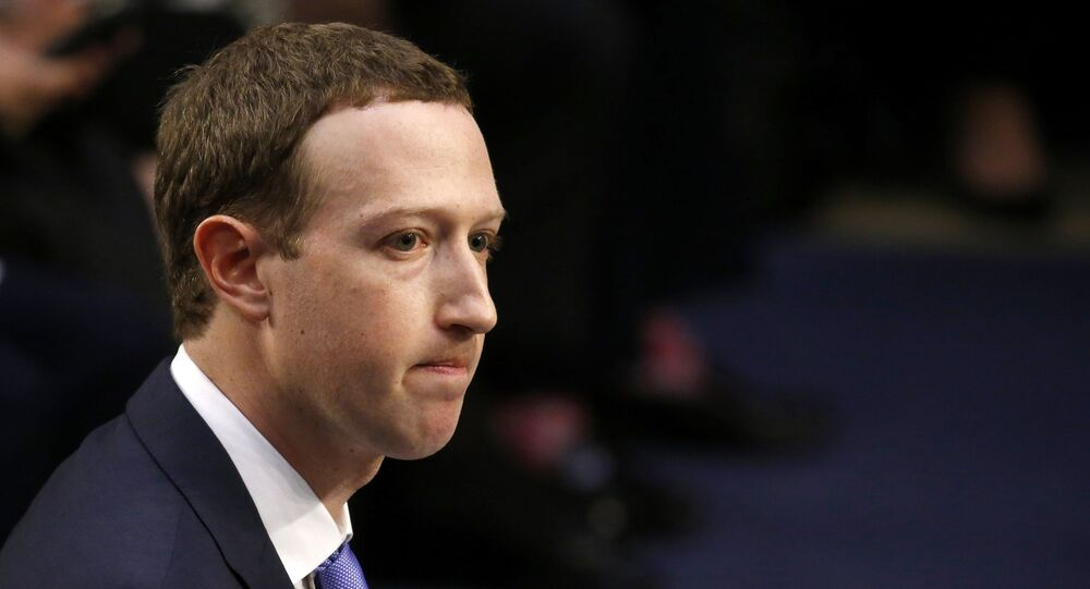 Facebook CEO Mark Zuckerberg listens while testifying before a joint Senate Judiciary and Commerce Committees hearing regarding the company's use and protection of user data, on Capitol Hill in Washington, U.S., April 10, 2018.