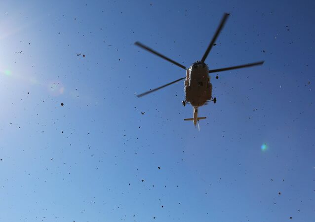 Mi-8 helicopter. File photo