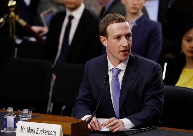 Facebook CEO Mark Zuckerberg testifies before a joint Senate Judiciary and Commerce Committees hearing regarding the company's use and protection of user data, on Capitol Hill in Washington, U.S., April 10, 2018