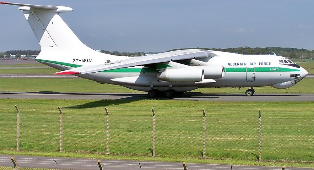 Algerian Air Force Il-76TD