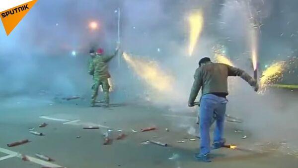 Greece: Pyrotechnics Mimic Ouster Of Ottoman Forces - Sputnik International