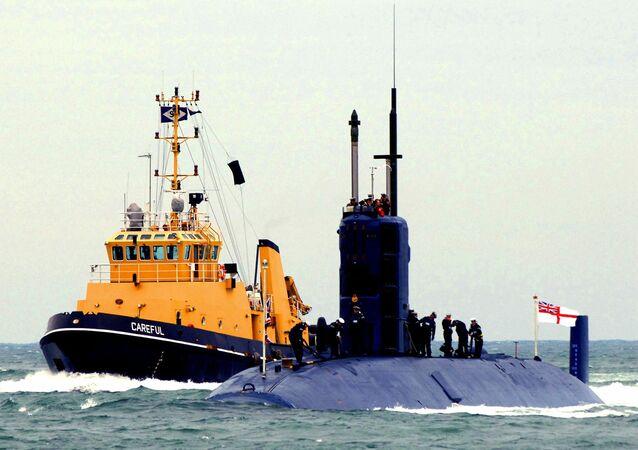 File Photo of UK Submarine