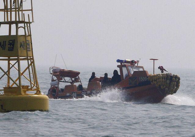South Korea Coast Guard boat (File)