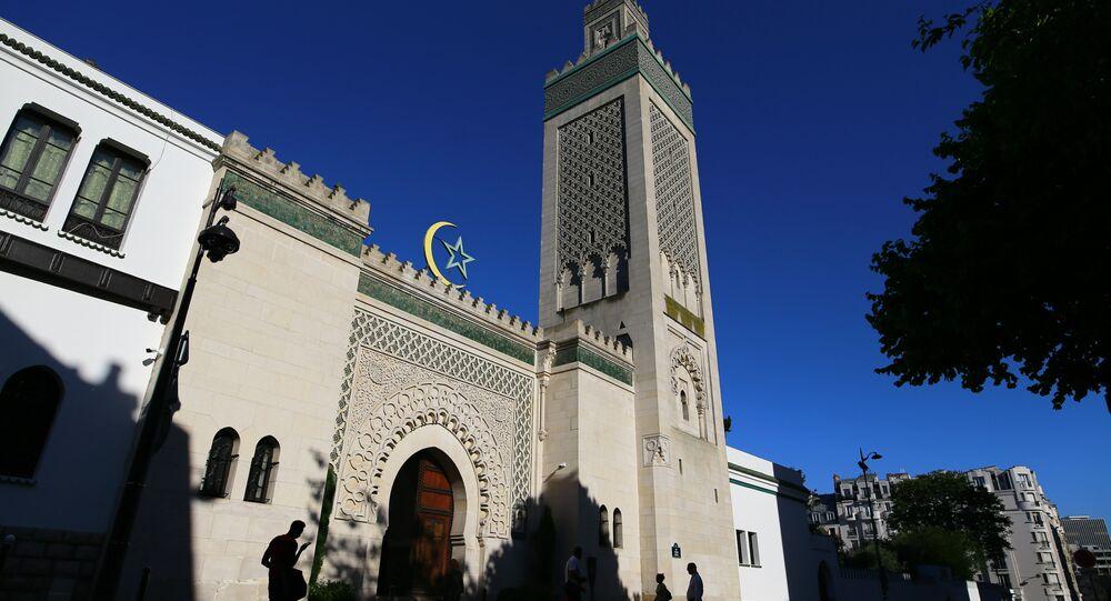 Grand Mosque of Paris. (File)
