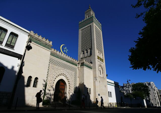 Grand Mosque of Paris. (File)