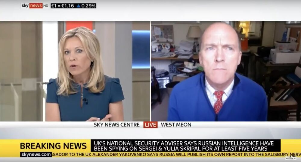 Former British general and military expert Jonathan Shaw was abruptly cut off by a Sky News host after he cast doubt on the veracity of an alleged chemical weapons attack in the Syrian city of Douma