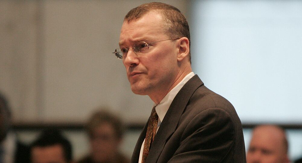 Attorney David S. Buckel makes arguments in favor of gay marriage, Wednesday, Feb. 15, 2006, during oral arguments seeking marriage for same sex couples at the New Jersey Supreme Court in Trenton, N.J.
