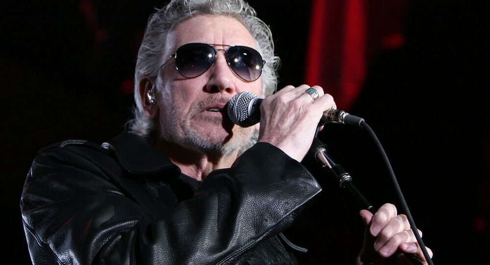 Roger Waters in Barcelona (Spain) during The Wall Live