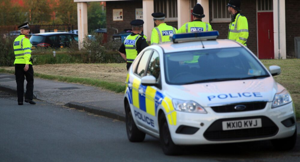 Police in north Manchester. (File)