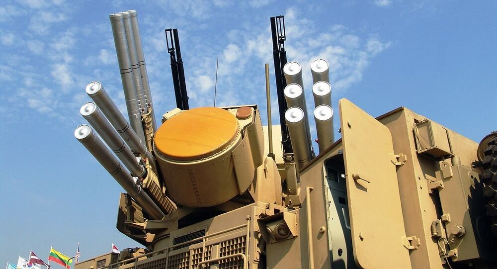 Pantsir-S1 weapon System