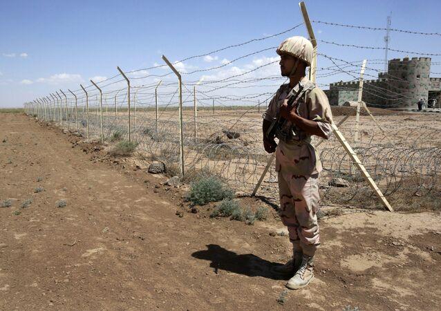 Iranian border guard. (File)