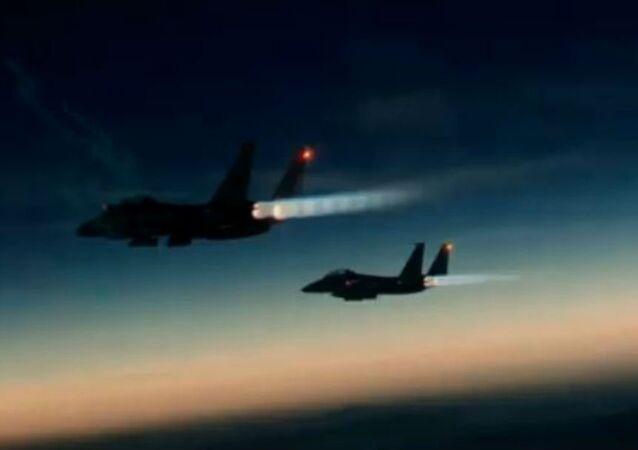 F-15s Solar Eclipse