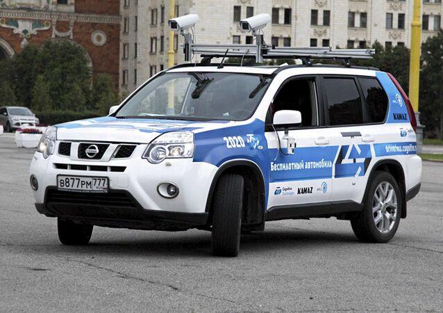 Тестовый автомобиль с российской интеллектуальной системой управления Cognitive Pilot
