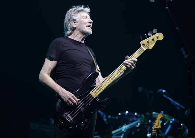Roger Waters performs during a live concert in Assago, near Milan, Italy