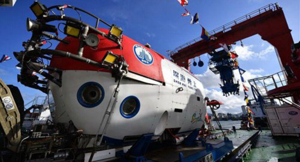 China's Deep Sea Warrior