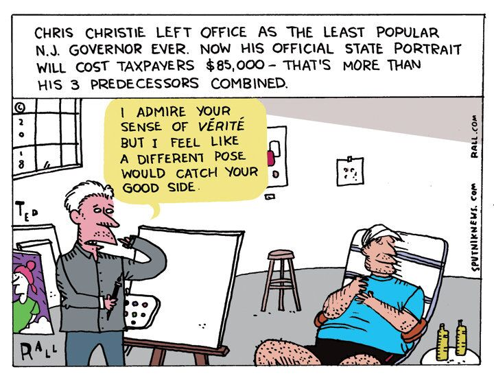 Costly Chris Christie