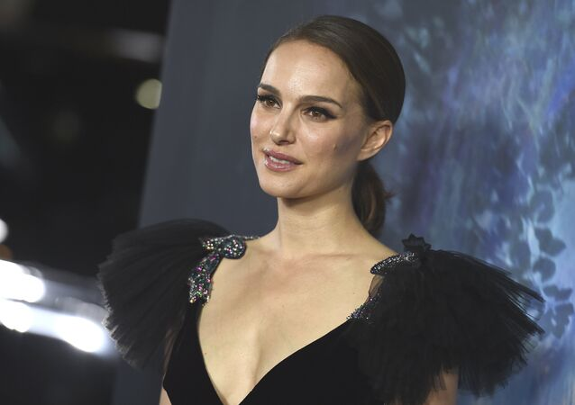 Natalie Portman arrives at the Los Angeles premiere of Annihilation at the Regency Village Theatre on Tuesday, Feb. 13, 2018