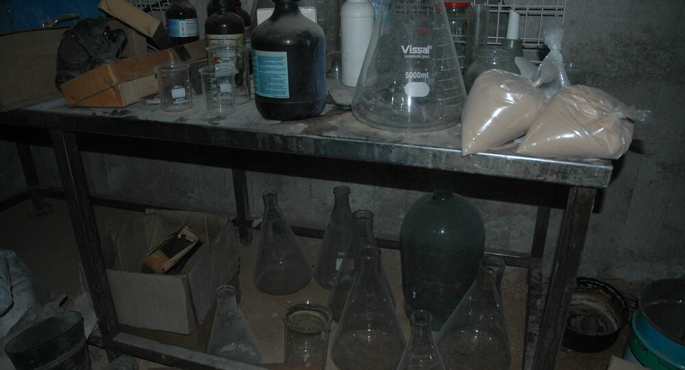 Laboratories and the plant for production of chemical weapon in Douma