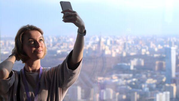 Selfie From Record Height - Sputnik International