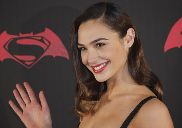 Israeli actress Gal Gadot poses for photos during a press conference to promote the movie: Batman v Superman: Dawn of Justice in which she plays the roles of super heroine Wonder Woman, and secret alter-ego Diana Prince, in Mexico City, 19 March 2016