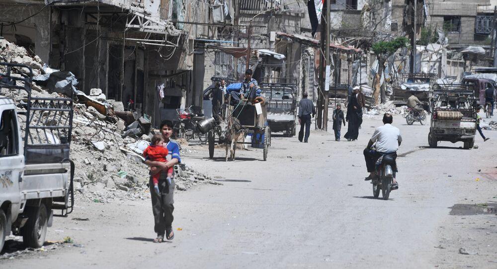 The city of Douma. File photo
