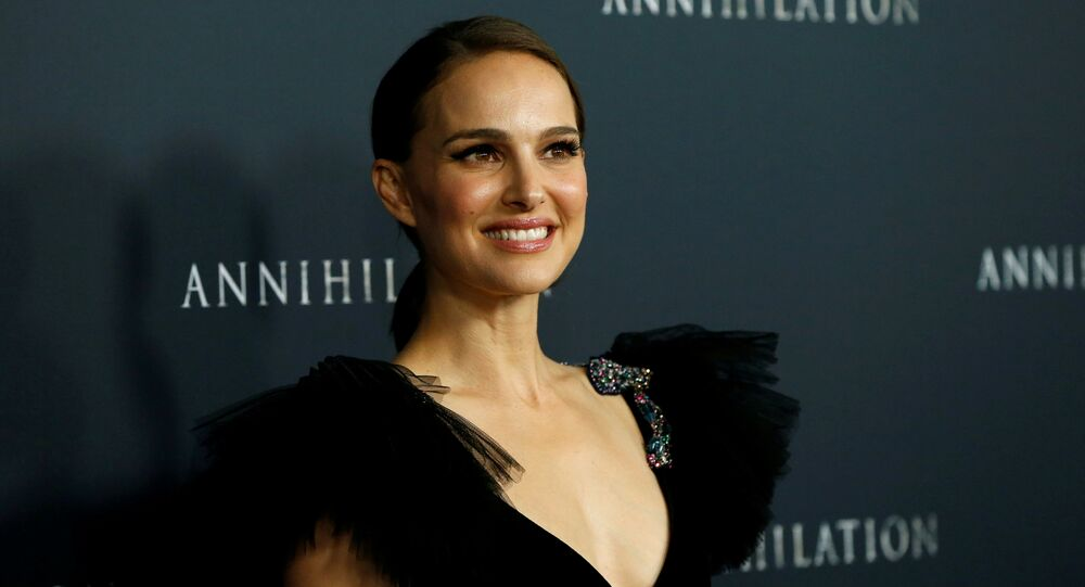 Cast member Natalie Portman poses at the premiere for Annihilation in Los Angeles, California, U.S., February 13, 2018