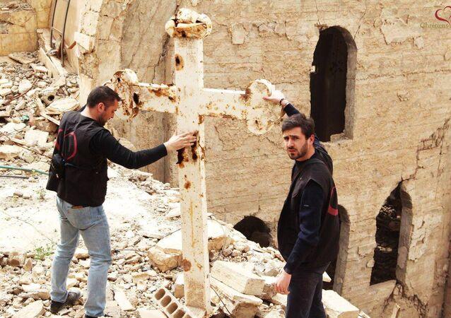 SOS Chrétiens d'Orient in Deir Zzor