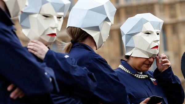 London protests (File) - Sputnik International
