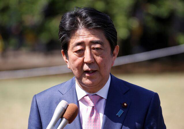 Japan's Prime Minister Shinzo Abe (File)