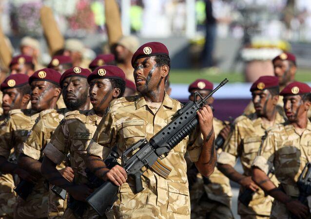 Qatari armed forces (File)