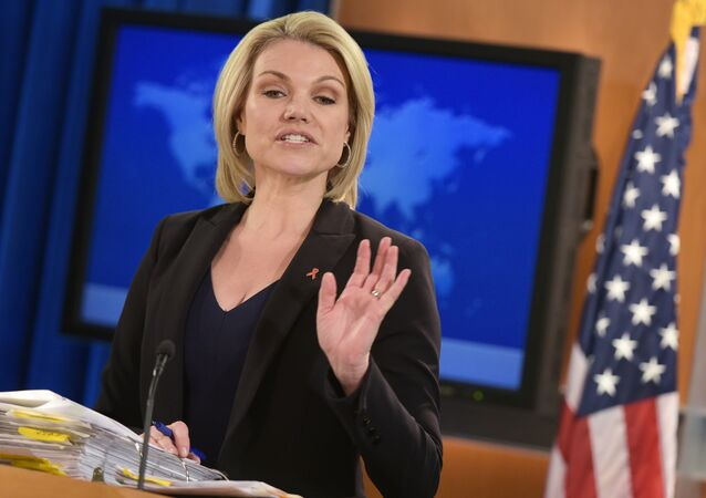 State Department Spokesperson Heather Nauert
