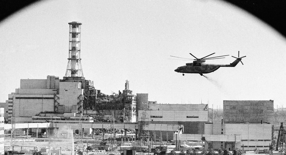 Decontamination of the Chernobyl nuclear power plant buildings