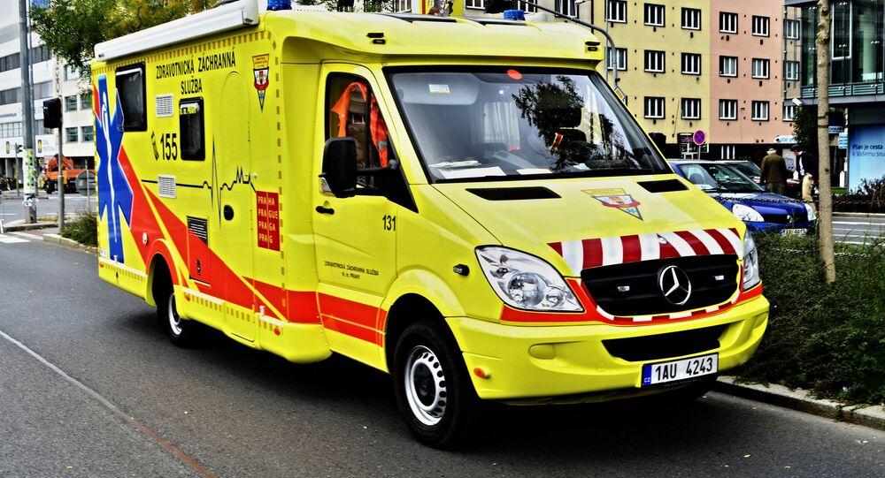 Ambulance in Czech Republic