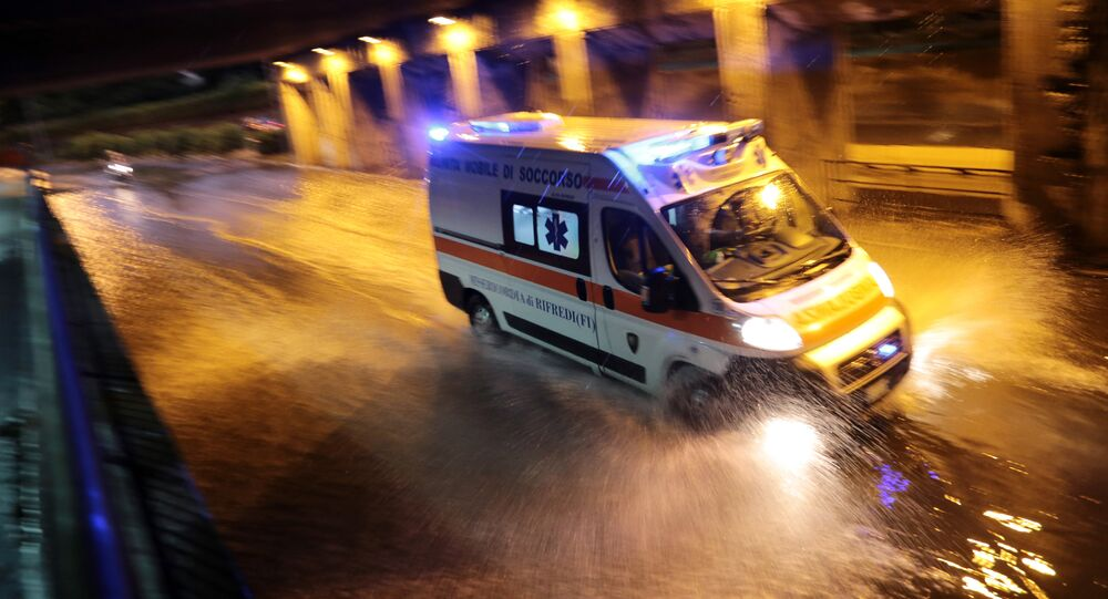 Ambulance in Italy (File)