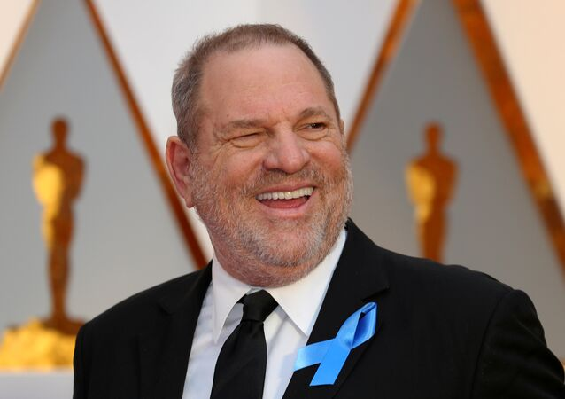 Harvey Weinstein arrives at the 89th Academy Awards in Hollywood, California. February 26, 2017