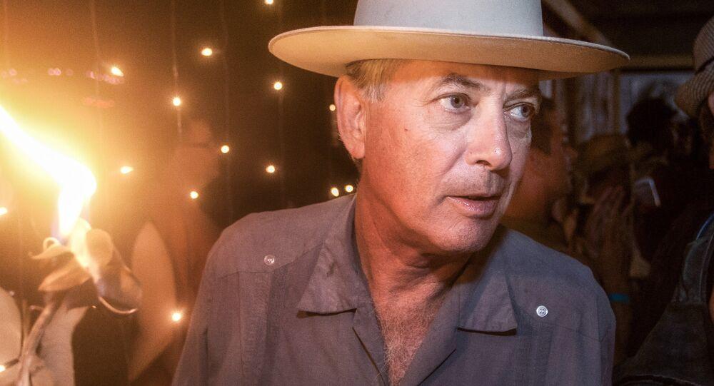 Larry Harvey, co-founder of the Burning Man festival