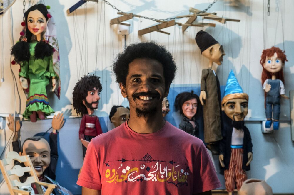 Marionette Maker From Egypt