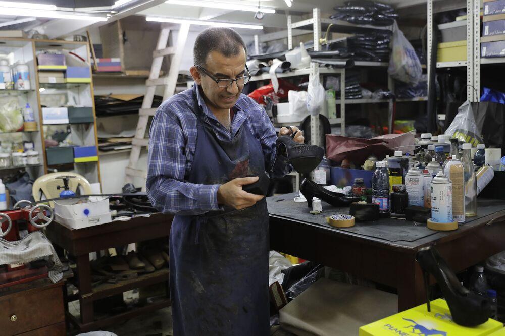 Shoe Repairman From Lebanon