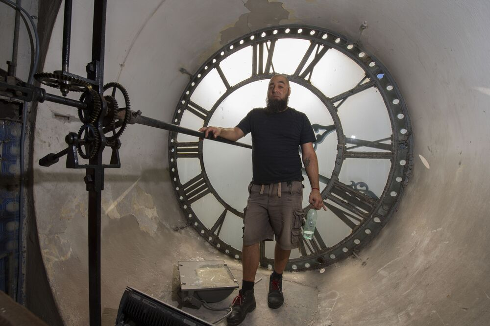 Uruguayan Clockkeeper of Montevideo's Cathedral