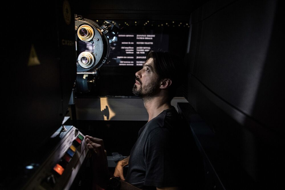 French Projectionist in Paris' Cinema