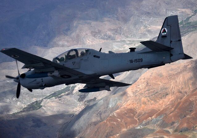 Afghan Air Force A-29 Super Tucano