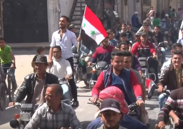 Syrians meet Russian forces in Eastern Qalamoun