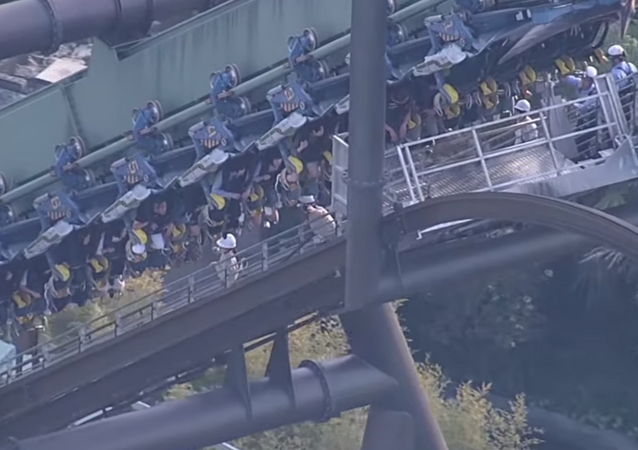 Glitch leaves riders on Universal Studios Japan ride hanging 100 feet in the air for two hours