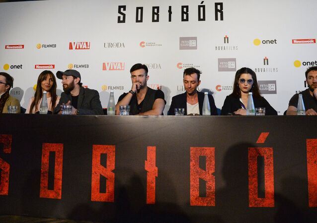 Sobibor movie premiere in Warsaw