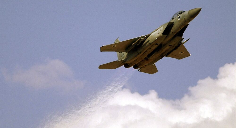 An Israeli Air Force F-15 (File)